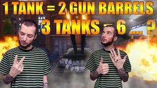 World Of Tanks - 3 ტანკი = 6 ლულას .. ჰმმმ!