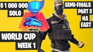 Fortnite World Cup Semifinals Part 2 Highlights - NA East Day 1 [Fortnite Tournament 2019]