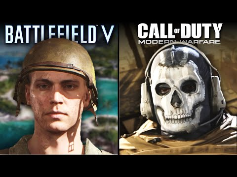 Call of Duty: Modern Warfare vs Battlefield V   Direct Comparison