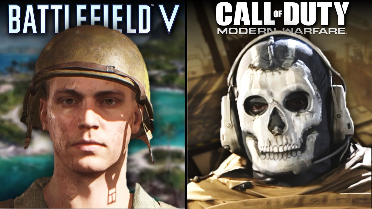 Call of Duty: Modern Warfare vs Battlefield V | Direct Comparison thumbnail