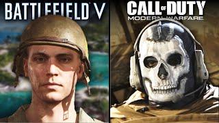 Call of Duty: Modern Warfare vs Battlefield V | Direct Comparison