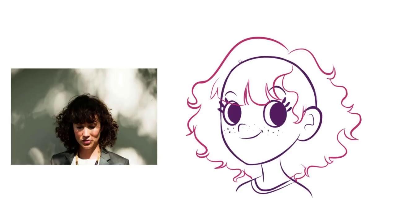 Quartoons 21 Como Desenhar Cabelos Femininos No Estilo Cartoon