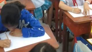 thi vẽ tranh trường tiểu LÊ QUÝ ĐÔN 18 01 2015