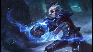 league of legends frosted ezreal login screen
