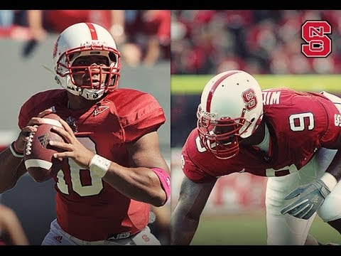 Wolfpack Gridiron Greats Russell Wilson and Mario Williams to Have Jerseys Honored