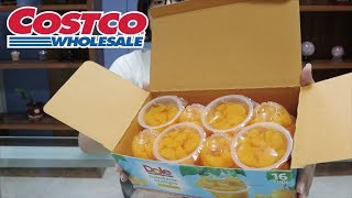 COSTCO回顧推薦u0026新品橘子果肉水果杯介紹