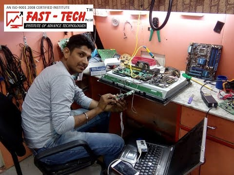 LED TV Repairing Practical Class - Fast Tech Institute