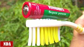 3 Amazing LifeHack with Toothbrush