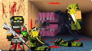 😫Самые мерзкие монстры [ЧАСТЬ 5] Чужие в майнкрафт! - (Minecraft - Сериал)