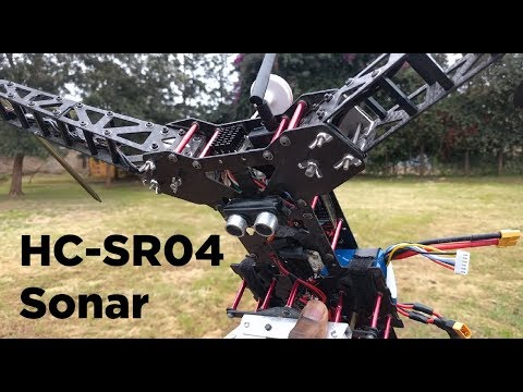 Pixhawk Loiter Performance with HC-SR04 Sonar - YouTube