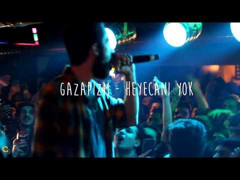 Gazapizm - Heyecanı Yok Canlı (ADANA) Beyoğlu Cafe 20.03.2018