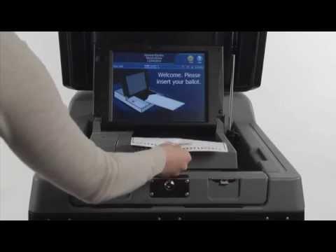 DS 200 Paper Ballot Machine