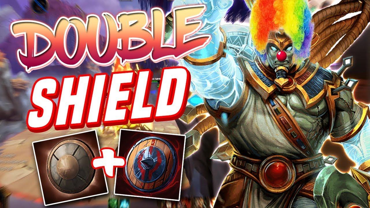Smite Double Shield Osiris Build The Biggest Clown Fiesta I
