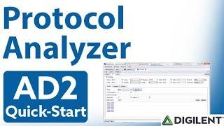 Analog Discovery 2 QuickStart: Video 14 - The Protocol Analyzer