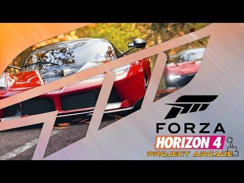 Forza Horizon 4 PROJECT ARCADE - First Look!! thumbnail