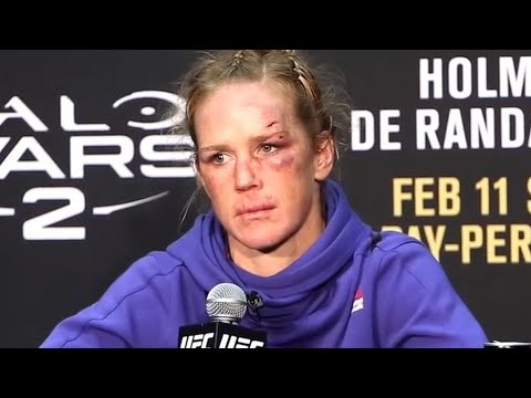 Holly Holm - UFC 208 post-fight press conference
