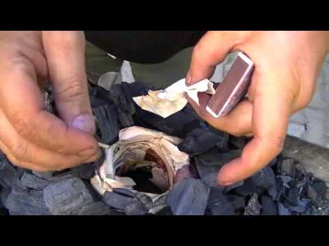 Революционный способ розжига углей для шашалыка (Revolutionary method of igniting coal for kebab)