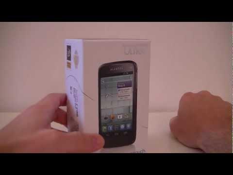 Alcatel One Touch 997D Ultra (OT-997D) - déballage (unboxing)