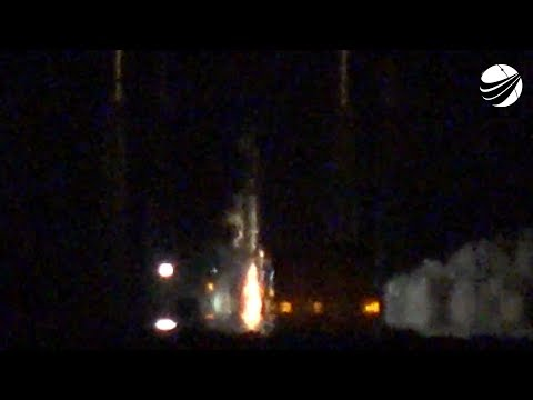SpaceX - SES12 - Static Fire Test  05-24-2018