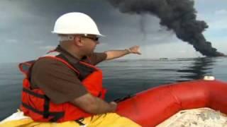 Oill Spill Surface Burning