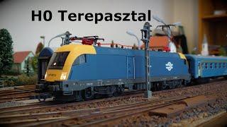 HO Terepasztal #3 (HO modell train layout)