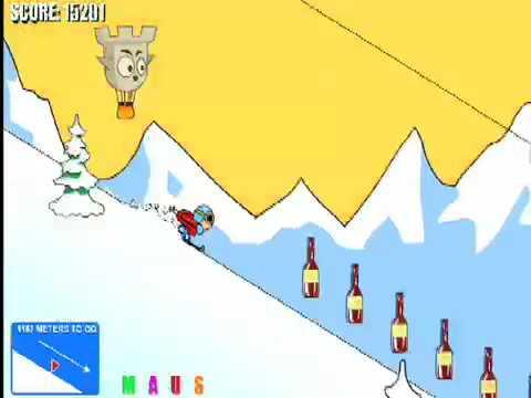 Aggressive Alpine Skiing - How to win