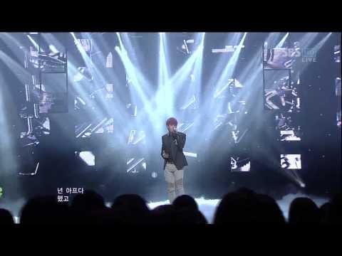 김성규 [60초] @SBS Inkigayo 인기가요 20121202