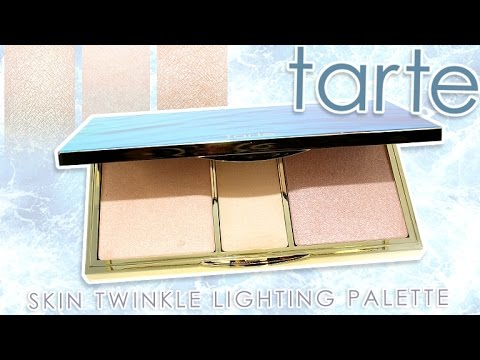Review Swatches Tarte Rainforest Of The Sea Skin Twinkle Lighting