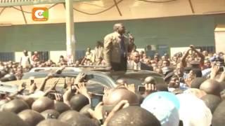 Uhuru launches Ksh 1B Malaba road