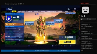 PLAYING ONLY WITH TEAM INTEGRANTS ZTE FORTNITE // live // direct // Free Spanish Ps4!! !! !