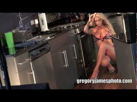 MEGAN DANIELS Behind The Scenes Photoshoot with Photographer Gregory James