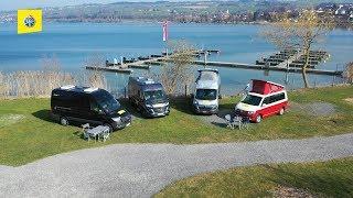 Campingbusse - 4 Modelle im Vergleich