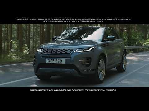 New 2020 Range Rover Evoque   Suspension Architecture
