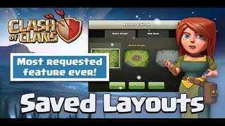 Clash sneak peek 4 | Save layouts in Clash Of Clans | Clash Of Clans update news