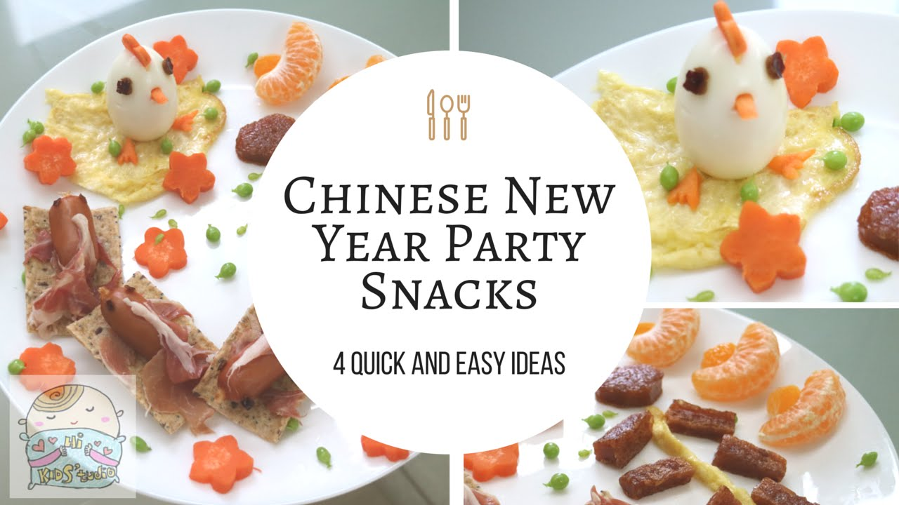 4 quick and easy chinese new year party snacks ideas food art diy 4 quick and easy chinese new year party snacks ideas food art diy youtube forumfinder Images