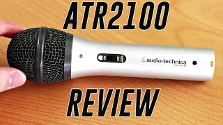 Audio Technica ATR2100 USB/XLR Microphone Review + Test