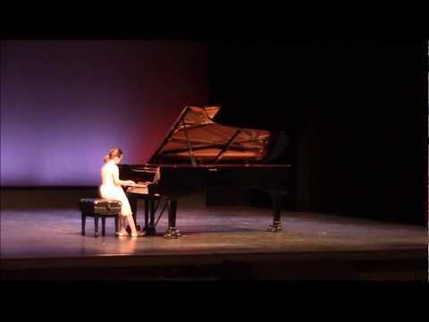 Martha Mier : An Irish Ballad by Elizabeth - YAA Honors Recital Jones Auditorium March 2018