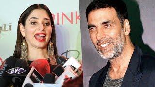 Tamannaah bhatia reaction on akshay kumar getting national award for best actor