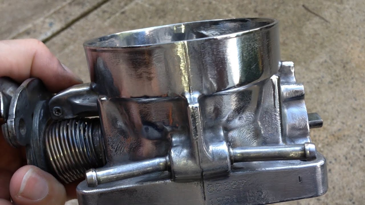 Porting and Polishing GM Chevy Tahoe Vortec Engine Throttle Body LS