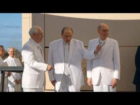 Church Dedicates Gilbert Arizona Mormon Temple
