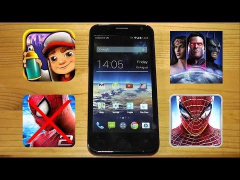 Vodafone Smart 4 Gaming Performance