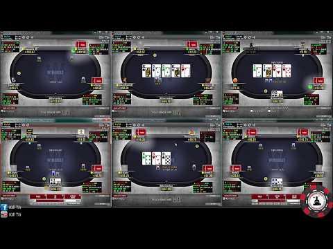 [Poker] 6Tabling NL50, par ShiShi
