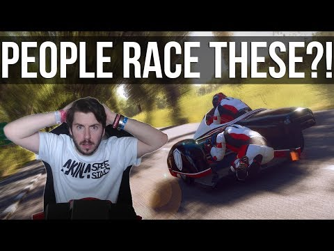 TT Isle Of Man - People Race These Things??? | SIDECAR DLC |