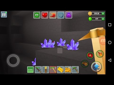 Exploration Craft 'CanadaDroid' Gameplay # 11 (2nd Series)   Unlimited Amethyst, Gold & Iron Ores  