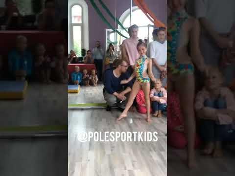Russian champion Pole sport kids 11 years old champion 2019 ▶3:08