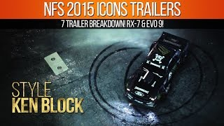 Need for Speed 2015 Gamescom Icons Trailers Breakdown