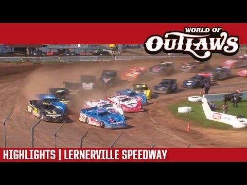 World of Outlaws Craftsman Late Models Lernerville Speedway June 24, 2017 | HIGHLIGHTS