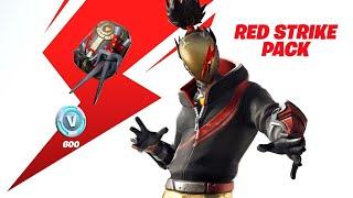 New red striker starter pack FORTNITE battle royal