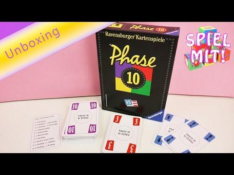 Phase 10 Kartenspiel | beliebtes Spiel das nie langweilig wird | Unboxing