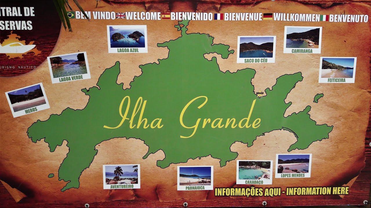 Ilha Grande Angra Dos Reis Brasil 4k Uhd Gopro Hero 5